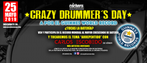 Crazy Drummer's Day @ Quintanar de la Orden (Toledo)