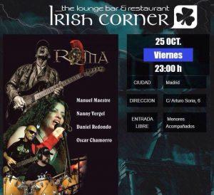 Roma en The Irish Corner @ The Irish Corner